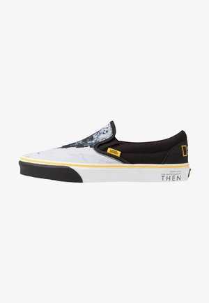 CLASSIC - Loaferit/pistokkaat - black/blue/yellow