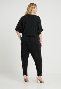 Urban Classics Curvy - LADIES - Jumpsuit - black - 2