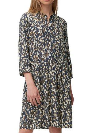 Shirt dress - multi/odyssey gray