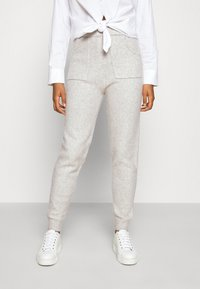 Fashion Union - RULER TROUSERS - Tracksuit bottoms - grey - 0