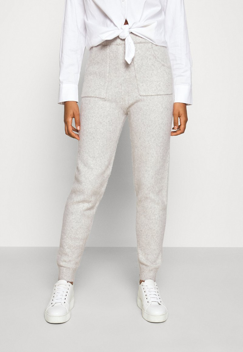 Fashion Union - RULER TROUSERS - Tracksuit bottoms - grey