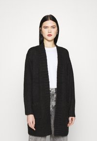Vero Moda - VMKAKA OPEN COATIGAN  - Cardigan - black - 0