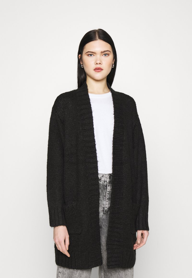 Vero Moda - VMKAKA OPEN COATIGAN  - Cardigan - black