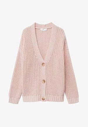 RISANI - Cardigan - rose pastel