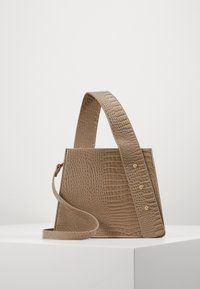 PCBELLAI CROSS BODY KEY - Across body bag - beige