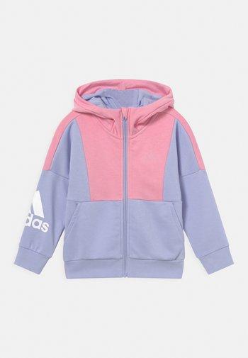 UNISEX - Sudadera con cremallera - violet tone/light pink
