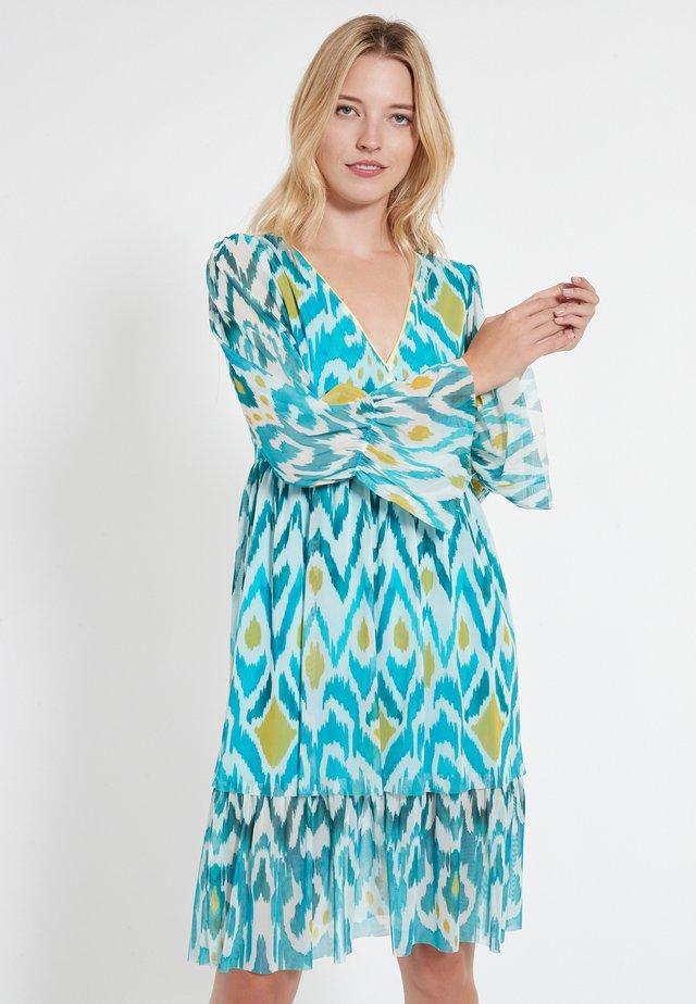 CEROL - Korte jurk - blau