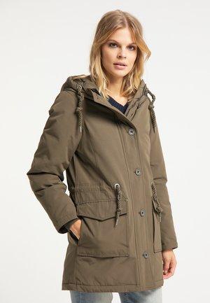 Winter coat - militär oliv