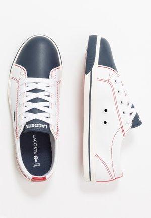 RIBERAC - Sneakers laag - white/navy/red