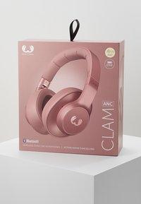 Fresh 'n Rebel - CLAM ANC WIRELESS OVER EAR HEADPHONES - Cuffie - dusty pink - 4