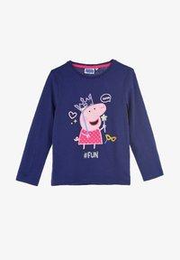 Peppa Pig - Long sleeved top - dunkel-blau - 0