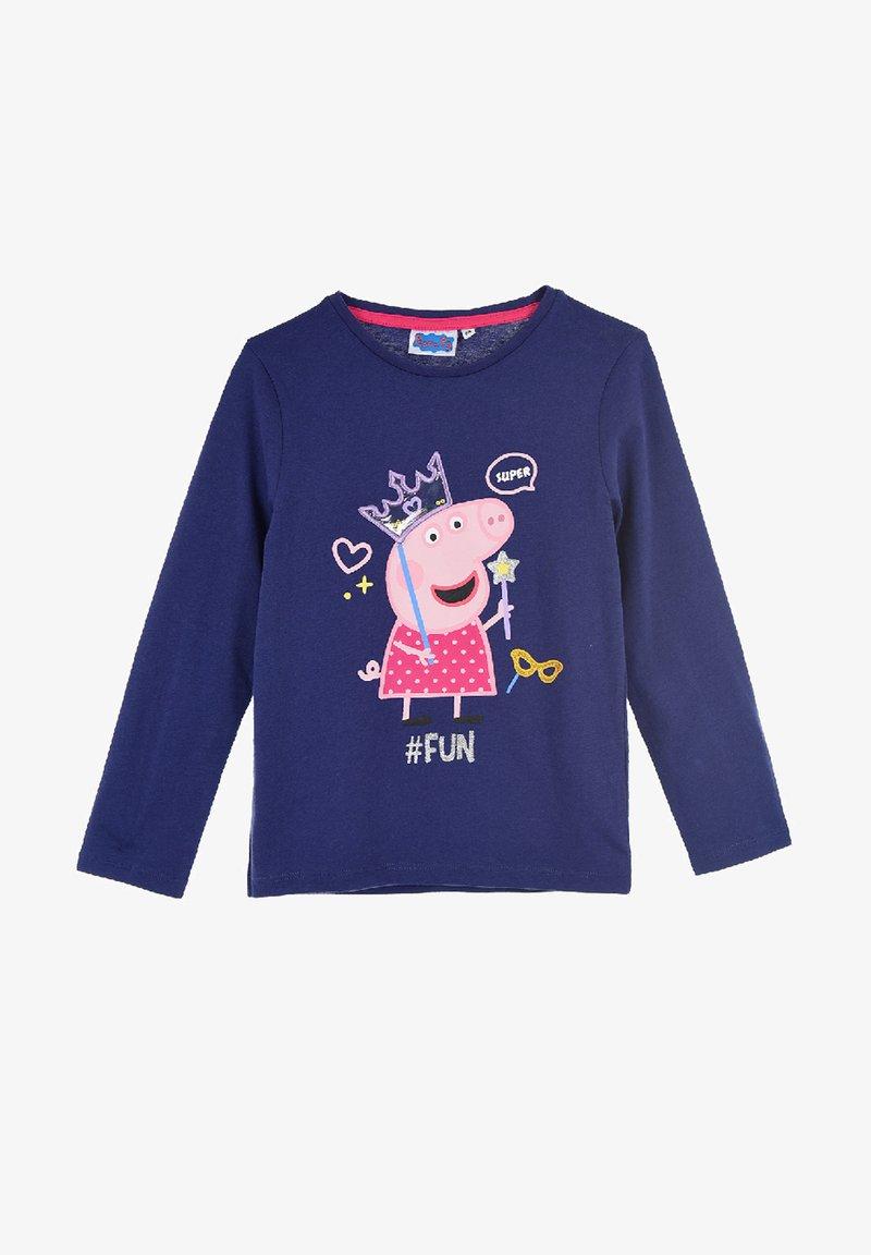Peppa Pig - Long sleeved top - dunkel-blau