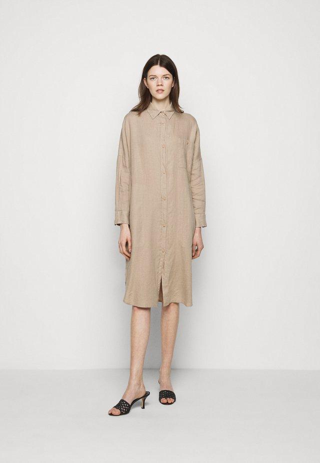 PROCIDA - Shirt dress - taube grau