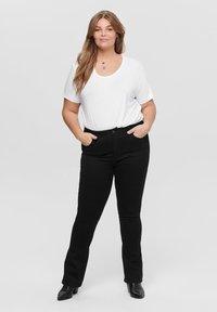 ONLY Carmakoma - CURVY - T-shirts - white - 1