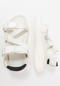 MOA - Master of Arts - Sandalen met plateauzool - total white - 1