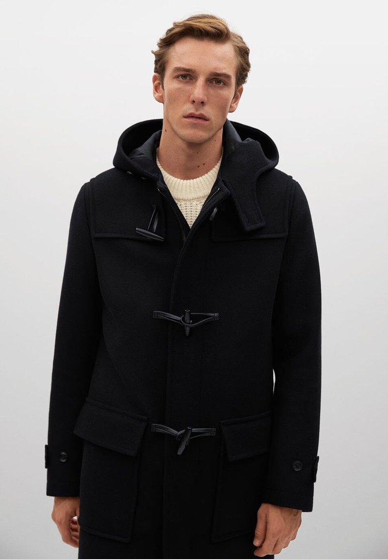 Mango - FARO - Short coat - zwart