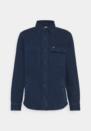 OVERSHIRT - Summer jacket - dark indigo
