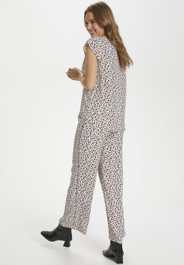 Saint Tropez ADELE - Bluzka - whisper cheetah Odzież Damska VQXM NY 3