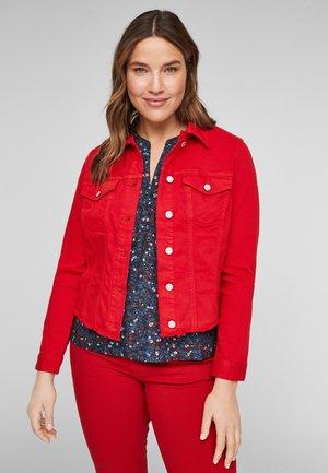 Jeansjacke - red