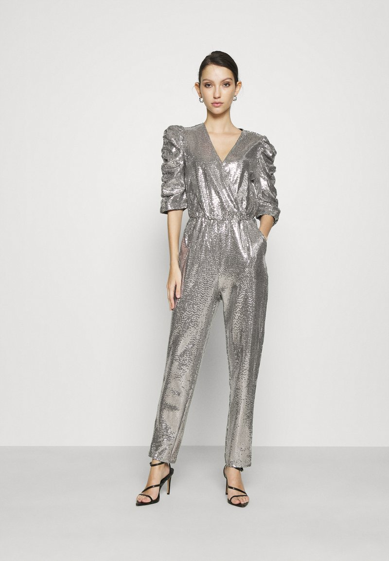 Gina Tricot - LOIS EXCLUSIVE - Jumpsuit - silver