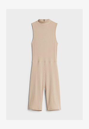 MIT RADLERHOSE - Jumpsuit - beige