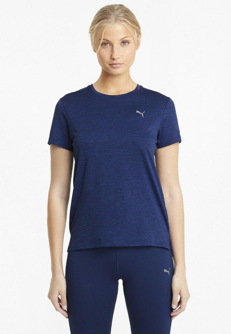Puma - Sports shirt - elektro blue heather