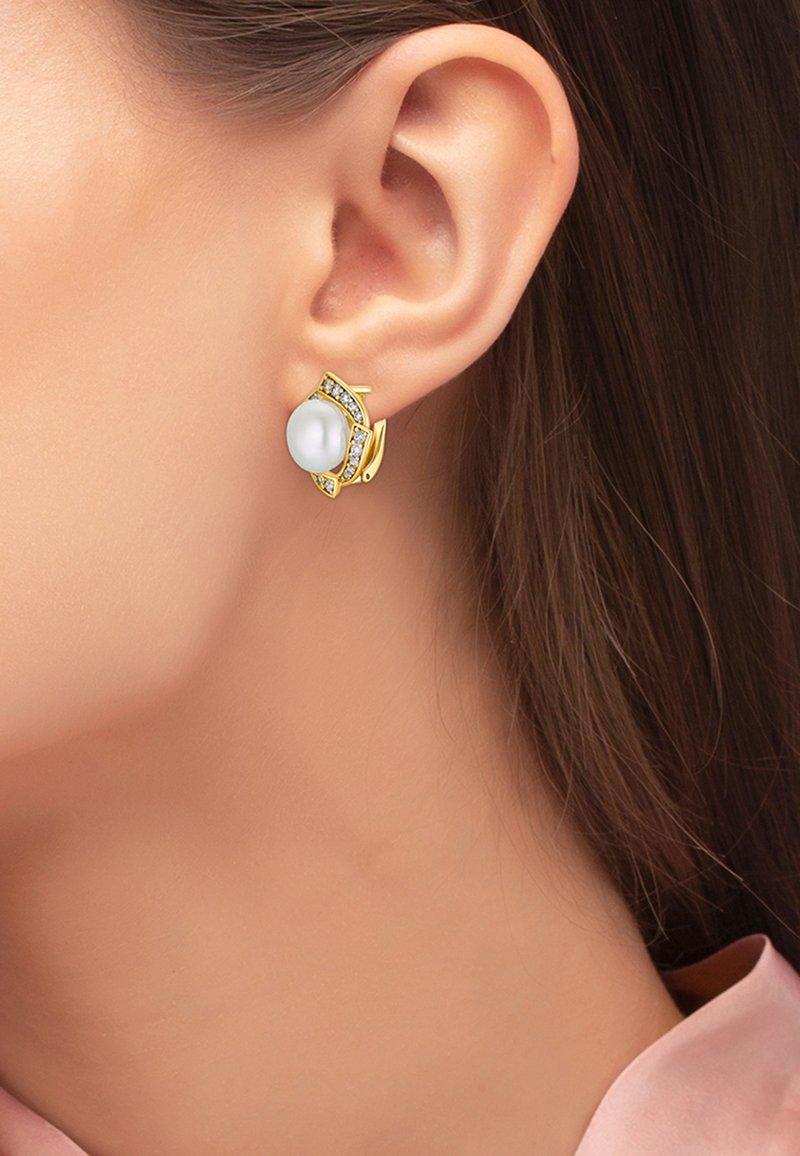 Heideman - OHRSCHMUCK ELA - Earrings - goldfarbend