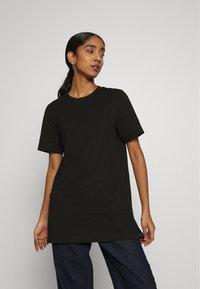 Gina Tricot - MANDY LONG TEE - Basic T-shirt - black - 0
