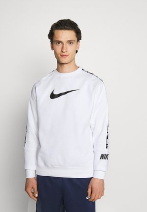 REPEAT CREW - Sweater - white/black