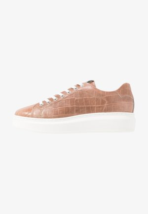 LACE-UP - Baskets basses - mauve