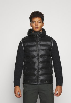 LIAN - Waistcoat - black