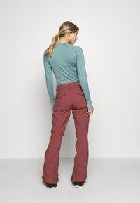 Burton - VIDA ROSE BROWN - Snow pants - rose brown - 2