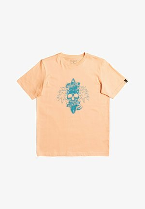 NIGHT SURFER - T-shirt print - apricot