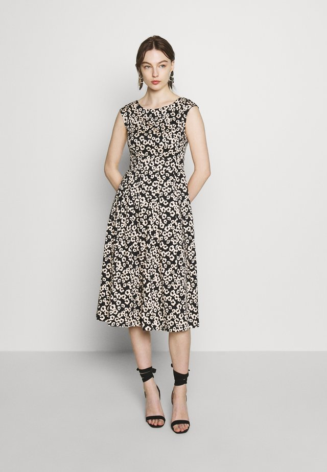 TIE BACK DRESS - Vestido informal - black