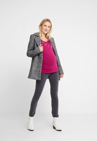 Esprit Maternity - Long sleeved top - plum red - 1