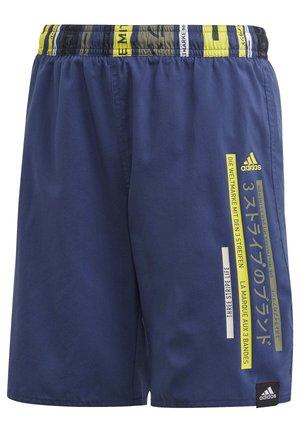 COLORBLOCK SWIM SHORTS - Swimming shorts - tech indigo