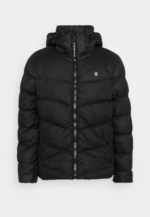 WHISTLER PUFFER - Winter jacket - dark black