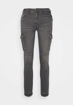 ONLMISSOURI LIFE  - Cargo trousers - medium grey denim