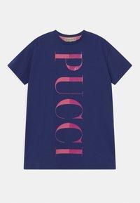Emilio Pucci - Jersey dress - blu/rosa - 0