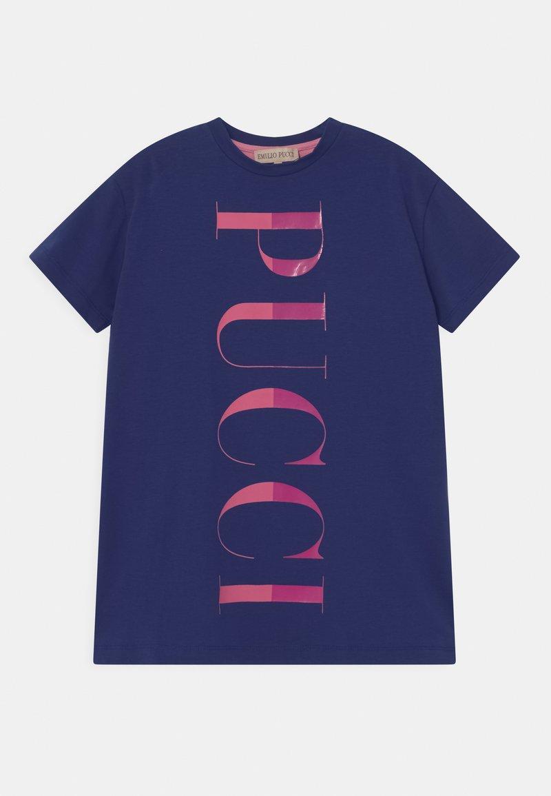 Emilio Pucci - Jersey dress - blu/rosa