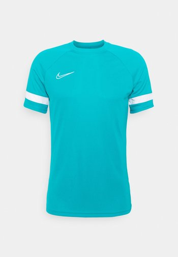 ACADEMY 21 - T-shirt con stampa - aquamarine/white