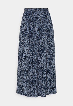 KABARBARA SKIRT - A-line skirt - quiet harbour/black animal