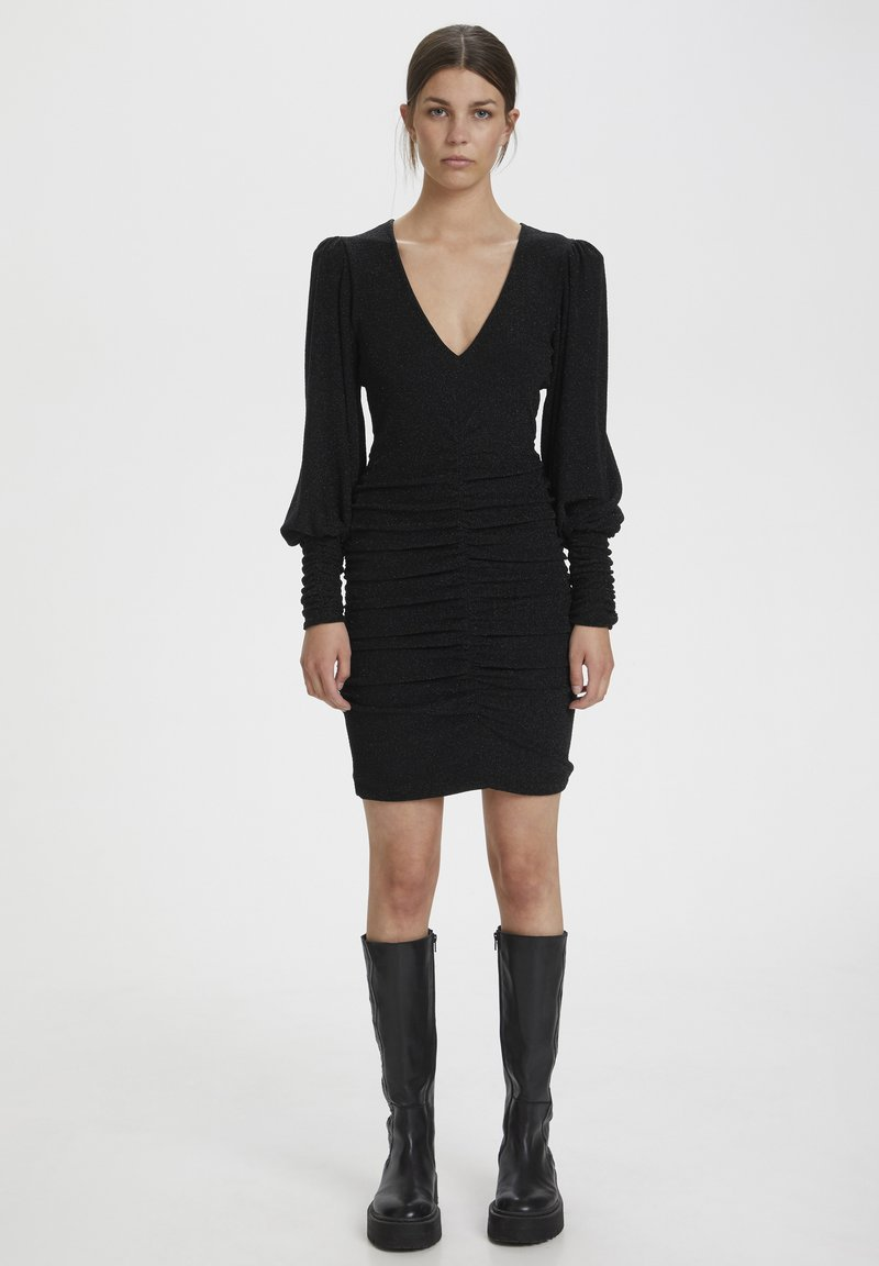 Gestuz - Shift dress - black