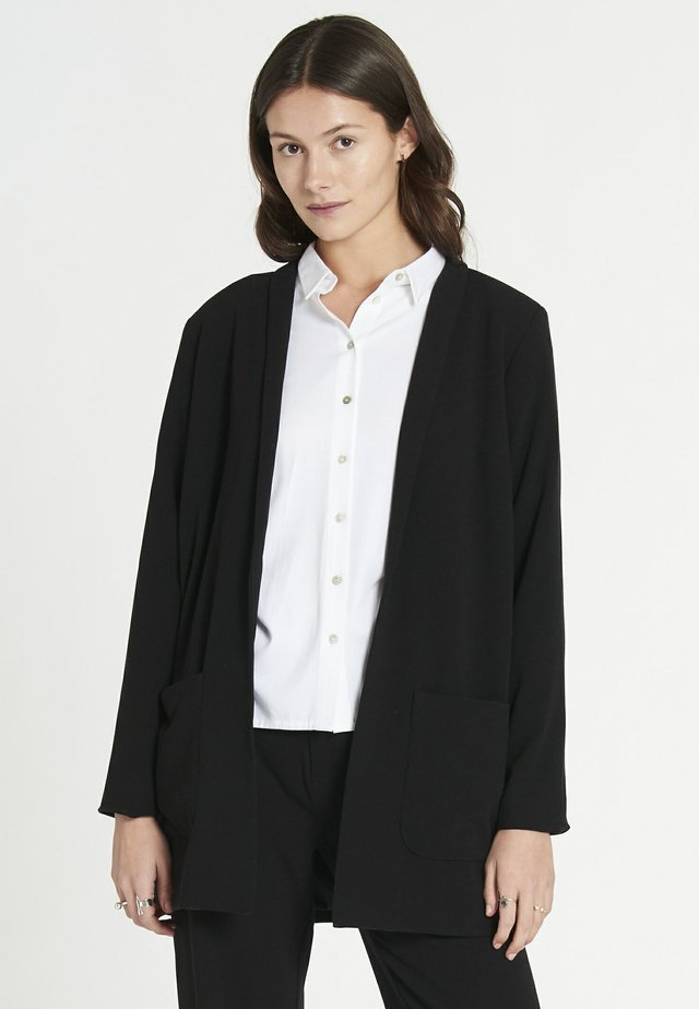 ECHO - Cappotto corto - black