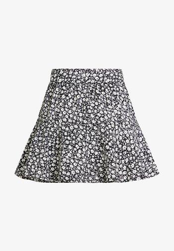SKORT - Mini skirt - black