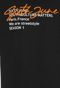 Sixth June - BACK WAS SIGNATURE TEE - Print T-shirt - black - 3
