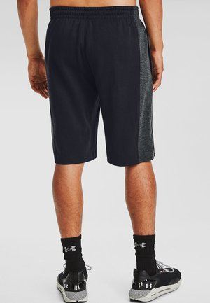 DOUBLE KNIT SHORTS - Sports shorts - black