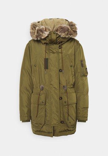 CLOUD PARKA - Down coat - sage green