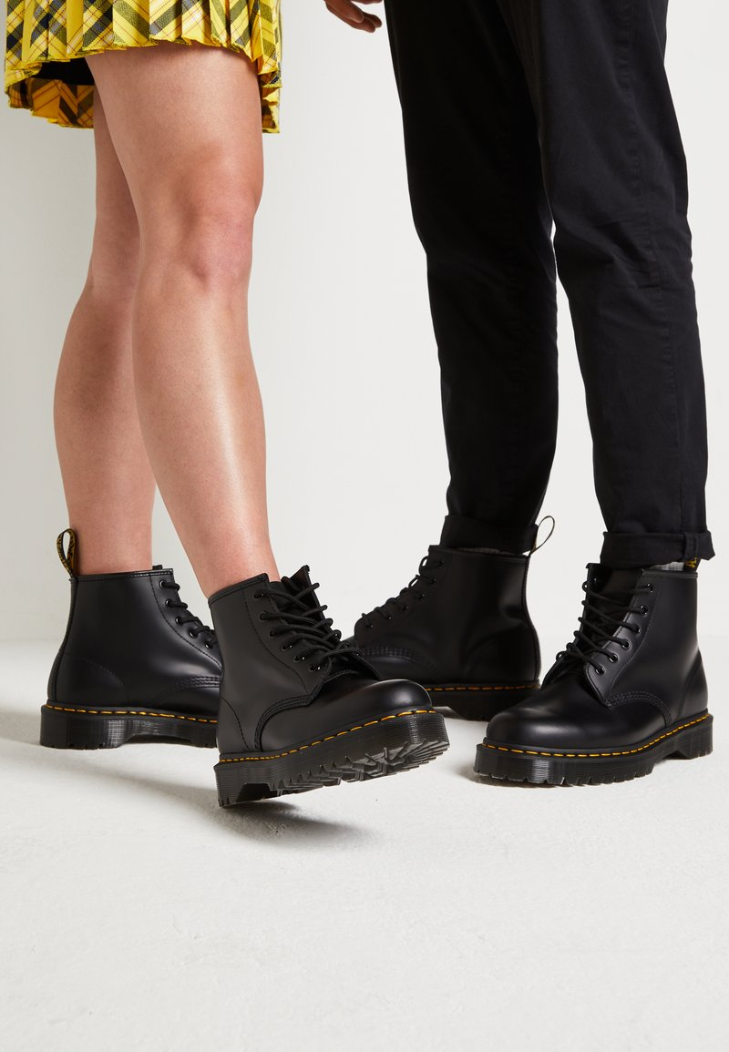 Dr. Martens - 101 BEX - Lace-up ankle boots - black smooth