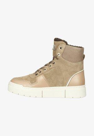 Sneakers hoog - taupe/tortora